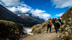 One fine day on the Everest Base Camp trek (Neha & Chittaranjan Desai) Tags: everest base camp trek trekking people travel nepal himalayas mountains yak