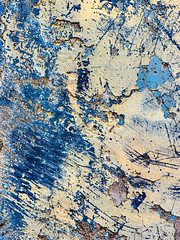 Texture Mixture (jaxxon) Tags: 2019 d610 nikond610 jaxxon jacksoncarson nikon nikkor lens nikon105mmf28gvrmicro nikkor105mmf28gvrmicro 105mmf28gvrmicro 105mmf28 105mm macro micro prime fixed pro abstract abstraction plaster paint yellow blue surface texture peelingpaint weathered rustic urban crusty decay