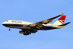 G-CIVB (JBoulin94) Tags: gcivb british airways boeing 747400 special livery negus washington dulles international airport iad kiad usa virginia va john boulin retrojet retro