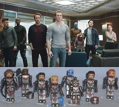 MiniMates - Avengers Endgame (Darth Ray) Tags: minimates marvel avengers endgame movie comparison