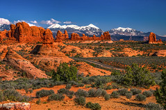 La Sal Mountains view from Garden of Eden (Cole Chase Photography) Tags: archesnationalpark utah americansouthwest