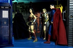 Paprihaven 1512 (MayorPaprika) Tags: canoneos50d ef28135mmf3556isusm 112 toy story paprihaven action figure diorama set custom medicom mafex batman vs mezco one12 wonderwoman diana princess themyscira queenhippolyta mattel dc multiverse icons superman drwho tardis