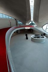 TWA Lobby (bryan.mk7) Tags: twa terminal jfk john f kennedy johnfkennedy airport twaterminal architecture midcenturymodern eero saarinen eerosaarinen