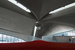 TWA Upper Floor (bryan.mk7) Tags: twa terminal jfk john f kennedy johnfkennedy airport twaterminal architecture midcenturymodern eero saarinen eerosaarinen