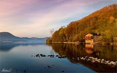 Spring Sunrise at Duke of Portland, England (AdelheidS Photography) Tags: lake spring dawn sunrise boathouse dukeofportland cumbria uk britain lakedistrict ullswater england adelheidsphotography