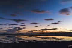 Dusky Elkhorn Slough (amymedina.photoart) Tags: clouds reflection longexposure dusk bluehour slough elkhorn california water landscape colorful