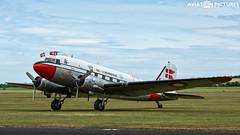 Douglas DC-3 Vennerne OY-BPB