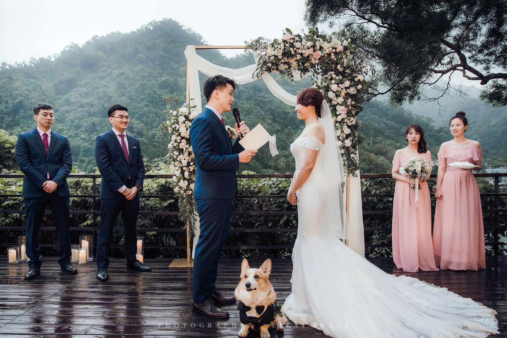 婚禮紀錄 - Dehua & Vicky - 烏來La Villa