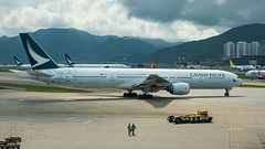 B-HNK - Cathay Pacific Airways - Boeing 777-367 (bcavpics) Tags: china airplane hongkong aviation cathaypacificairways bhnk plane aircraft cx boeing 777 sar airliner 773 cpa hkg cheklapkok vhhh bcpics