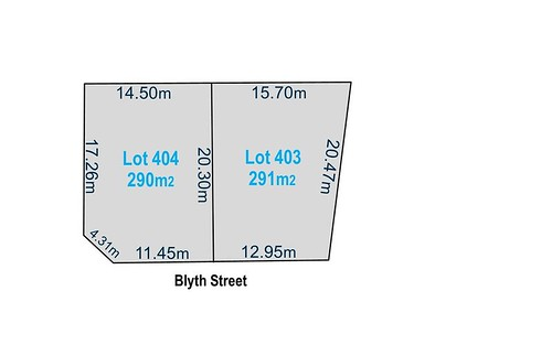 Lots 403 & 404 Blyth Street, Broadview SA 5083