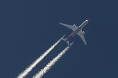 Asiana Airlines Airbus A350-941  HL7579 (pointnshoot) Tags: canonef300mmf28lisiiusm mosslanding asianaairlines airbusa350 a359 hl7579 contrails