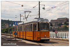 Tram Budapest - 2019-10 (olherfoto) Tags: bahn tram tramcar tramway strasenbahn villamos budapest ganz ungarn hungary bkv