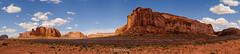 monument valley panorama (Brian Eagar Nature Photography) Tags: monumentvalley nature landscape scenery arizona wildflower sky rocks mesa monolith sandstone formation fuji fujifilm xf816 xt2