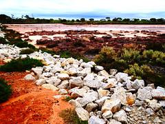 Lake Tyrrell In Sea Lake Victoria by Leica 15mm f1.7 (roentarre) Tags: leica 15mm f17 g9 micro43 microfourthirds mount panasonic victoria australia scenery facade regional sealake