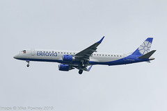 EW-533PO - 2019 build Embraer 195-200LR, on approach to Runway 23R at Manchester (egcc) Tags: 19000766 195200lr 195lr b2 bru bru853 belavia belaviaby egcc ew533po emb195 embraer embraer195 lightroom man manchester prebp ringway