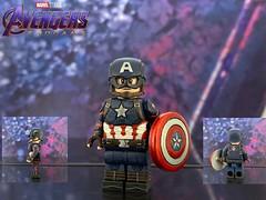 LEGO custom Captain America from Avengers: Endgame (Benson_Bone) Tags: lego custom minifigure avengers endgame steve rogers captain america chris evans