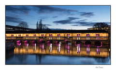 Le Barrage Vauban (Rémi Marchand) Tags: nuit strasbourg canoneos5dmarkiii barrage vauban barragevauban nuitbleue alsace grandest elitegalleryaoi