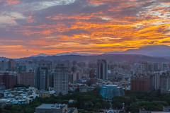 IMG_6033 (鹽味九K) Tags: 台中 金典酒店 日出 morning 火燒雲 写真