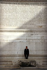 Comando Supremo (Peter Denton) Tags: rome roma italy italia europe europa portrait lianglu vittoriomanueleii ©peterdenton canoneos100d monument inscriptions latin shadows