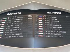 DEPARTS / ARRIVES (Nick Sherman) Tags: twaflightcenter twa jfkairport twahotel flightcentergothic
