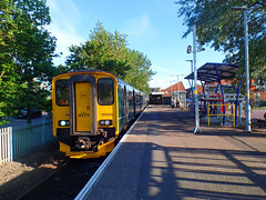 150249 Exmouth (Marky7890) Tags: gwr 150249 class150 exmouth sprinter 2b84 railway devon avocetline train