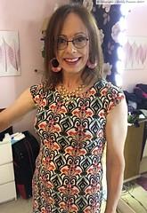 May 2019 (Girly Emily) Tags: crossdresser cd tv tvchix trans transvestite transsexual tgirl tgirls convincing feminine girly cute pretty sexy transgender boytogirl mtf maletofemale xdresser gurl glasses dress hull smile bedroom
