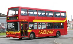 Archway Travel, Fleetwood ST52NTM working afternoon Wyre area schools services. (Gobbiner) Tags: archwaytravel st52ntm eastlancs fleetwood b7tl volvo vyking strathtay 705 stagecoacheastscotland 16925