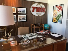 Recreation of Howard Hughes's office (Nick Sherman) Tags: twaflightcenter twa jfkairport twahotel
