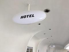 HOTEL / FOOD (Nick Sherman) Tags: twaflightcenter twa jfkairport twahotel flightcentergothic