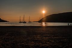 Sunset anchorage... (Dafydd Penguin) Tags: greece island anchorage anchor yacht yaxhtinf sailboat sail boat sailing kythnos ay loukas leica m10 summicron 35mm f2