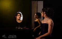 7 Deadly Sins by SpirosK and Ailiroy: Vanity (alt. setup) (SpirosK photography) Tags: sevendeadlysins 7deadlysins portrait corset lowkey studio spiroskphotography ailiroy concept conceptual beautiful nikon mask toxic vanity pride beauty
