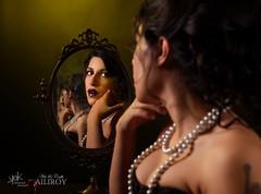 7 Deadly Sins by SpirosK and Ailiroy: Vanity (SpirosK photography) Tags: sevendeadlysins 7deadlysins portrait corset lowkey studio spiroskphotography ailiroy concept conceptual beautiful nikon mask toxic vanity pride beauty