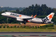 Jetstar Japan | Airbus A320-200 | JA21JJ | Tokyo Narita (Dennis HKG) Tags: aircraft airplane airport plane planespotting canon 7d 100400 tokyo narita rjaa nrt jetstar jetstarjapan jjp gk airbus a320 airbusa320 sharklets ja21jj