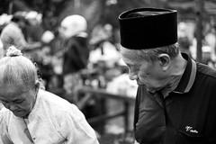 Surabaya Street Life (Amalshaleh1966) Tags: bw monochrome old oldcouple pasar