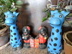 Helften (Merodema) Tags: popjes playful speelenderwijs blauw zwart