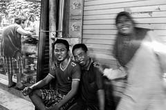 Surabaya Street Life (Amalshaleh1966) Tags: bw motion pacarkelingindoor pasar