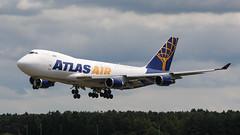 N415MC BOING 747 ATLAS AIR (MANX NORTON) Tags: raf mildenhall usaf hercules c130 ac130 mc130j commando ii pilatus u28pc12 kc10 boeing kc135 rc135 e8 jstars e3 sentry e4b c5 galaxy c17 globemaster100th arw