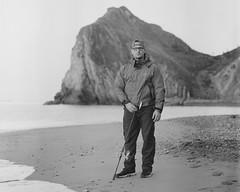Ben The Angler (Attila Pasek (Albums!)) Tags: analogue portrait bronicasqa angler delta mediumformat durdledoor camera 120film 400 blackandwhite ilford film bw