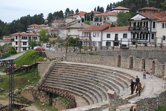 Ancient Theatre of Ohrid (200 BC) (sandorson) Tags: ohrid northmacedonia északmacedónia