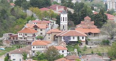 Holy Mother of God Peribleptos Church viewed from Samuel's Fortress, Ohrid (sandorson) Tags: ohrid northmacedonia északmacedónia sandorson