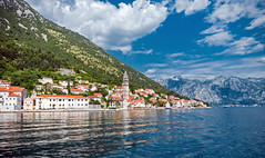 A little town in Montenegro - Perast (tomaszciesielski) Tags: montenegro perast kotor bay adriatic sea town landscape summer beautiful tourism travel blue europe coast old serbia croatia water architecture day view building city vacation beach history mountain landmark marine mediterranean seascape balkan kotorska boka nature cruise fjord albania sky italy trip outdoor herzegovina bosnia outdoors traditional house culture stone russianfederation