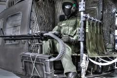 Door gunner. (Ian Ramsay Photographics) Tags: doorgunner role operated weapons