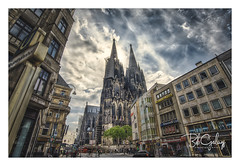 Wo ist der Bahnhof (Bob Geilings) Tags: dom church dramatic koln cologne clouds city gothic cathedral domvankeulen