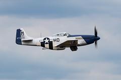 44-72216/G-BIXL P-51D Mustang 'Miss Helen' (amisbk196) Tags: airfield aircraft dday dday75 flickr amis aviation unitedkingdom daksoverduxford 2019 uk duxford 4472216 gbixl p51d mustang misshelen