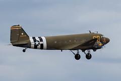 N47SJ/348608 Douglas C-47B 'Betsy's Biscuit Bomber' (amisbk196) Tags: airfield aircraft dday dday75 flickr amis aviation unitedkingdom daksoverduxford 2019 uk duxford n47sj 348608 douglas c47b betsysbiscuitbomber