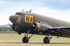 N47SJ/348608 Douglas C-47B 'Betsy's Biscuit Bomber' (amisbk196) Tags: airfield aircraft dday aviation flickr amis dday75 unitedkingdom 2019 daksoverduxford uk duxford n47sj 348608 douglas c47b betsysbiscuitbomber