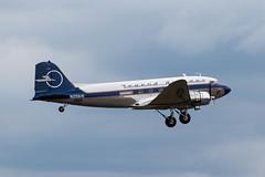 N25641 DC-3C Legend Airways 'Liberty' (amisbk196) Tags: airfield aircraft dday dday75 flickr amis aviation unitedkingdom daksoverduxford 2019 uk duxford n25641 dc3c legend airways liberty