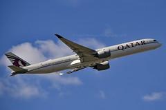 Qatar Airways A7-ANC Airbus A350-1041 cn/110 @ EGLL / LHR 16-05-2019 (Nabil Molinari Photography) Tags: qatar airways a7anc airbus a3501041 cn110 egll lhr 16052019