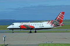 G-LGNE Saab 340B (Roger Wasley) Tags: glgne saab 340b loganair kirkwall airport orkney scxotland aircraft airliner plane