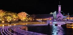 Nabana No Sato (.John Wong) Tags: nabana no sato japan chubu night lake light